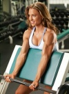 Girl with muscle - Jennifer Gates