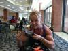 Girl with muscle - Amanda Folstad-Ptak