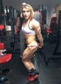 Girl with muscle - Corinne Ingman
