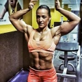 Girl with muscle - Katre Rjabov