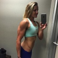 Girl with muscle - Lauren Howe