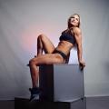 Girl with muscle - natalya Yakubovskaya