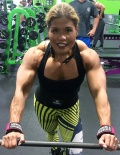 Girl with muscle - Maria Flores