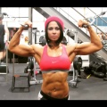 Girl with muscle - Jessica Reyes Padilla
