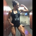 Girl with muscle - Nicole Reynolds