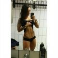 Girl with muscle - Karoline Pettersen