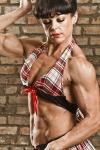 Girl with muscle - Linda Gartside