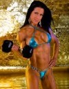 Girl with muscle - janet west