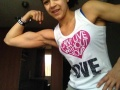 Girl with muscle - Jessy Santina