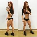 Girl with muscle - Antonina Lazukova