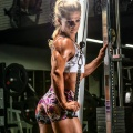 Girl with muscle - Larina Lee