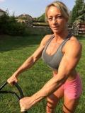Girl with muscle - Margita Zamolova