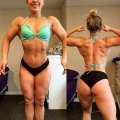 Girl with muscle - Victoria D'Ariano