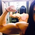 Girl with muscle - Ashley Carpenter