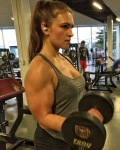Girl with muscle - Stephanie Holdmeyer