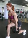 Girl with muscle - Vera Vinogradova - Ivanova