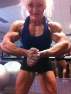 Girl with muscle - Christine Boudreau