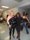 Girl with muscle - Tammy Jones (l) Dayana Cadeau (r)