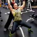 Girl with muscle - Katie Lee