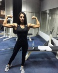 Girl with muscle - Evgenia