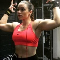 Girl with muscle - tamy angel