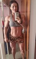 Girl with muscle - Tereza Pantela