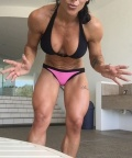Girl with muscle - Nyssa Bovenkamp