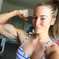 Girl with muscle - Melissa Le Man