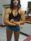 Girl with muscle - carla