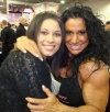 Girl with muscle - Diane Pantano (L) Debbie Bramwell (R)