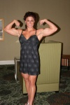 Girl with muscle - Lisa Moordigian
