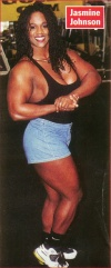 Girl with muscle - Jasmin Johnson