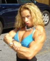 Girl with muscle - andrulla blanchette