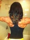 Girl with muscle - Francesca Nicole
