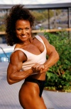 Girl with muscle - Cathey Compton-Smith