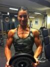 Girl with muscle - Jannika Larsson