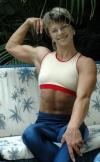Girl with muscle - Natalia Mikhaylova