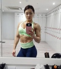Girl with muscle - Chu-Mi Kim