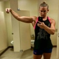 Girl with muscle - courtney