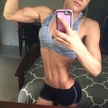 Girl with muscle - Brittni Guyton