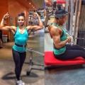 Girl with muscle - katrin skoraya