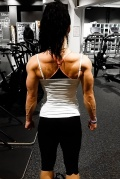 Girl with muscle - Veronica Bodtker