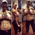 Girl with muscle - Johanna Hess
