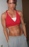 Girl with muscle - Melissa Lalone (littlered67)