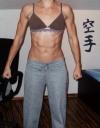 Girl with muscle - katy