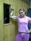 Girl with muscle - Nidia Pardo