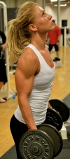 Girl with muscle - Michaela Augustsson