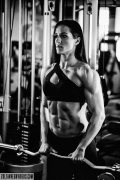 Girl with muscle - Zsoka Halasz