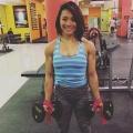 Girl with muscle - Levie Nacional Hamad
