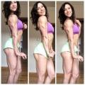 Girl with muscle - Hayley Hirshland